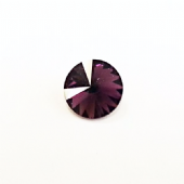 REDUCED 8mm Rivoli SWAROVSKI Article 1122 - Amethyst SS39